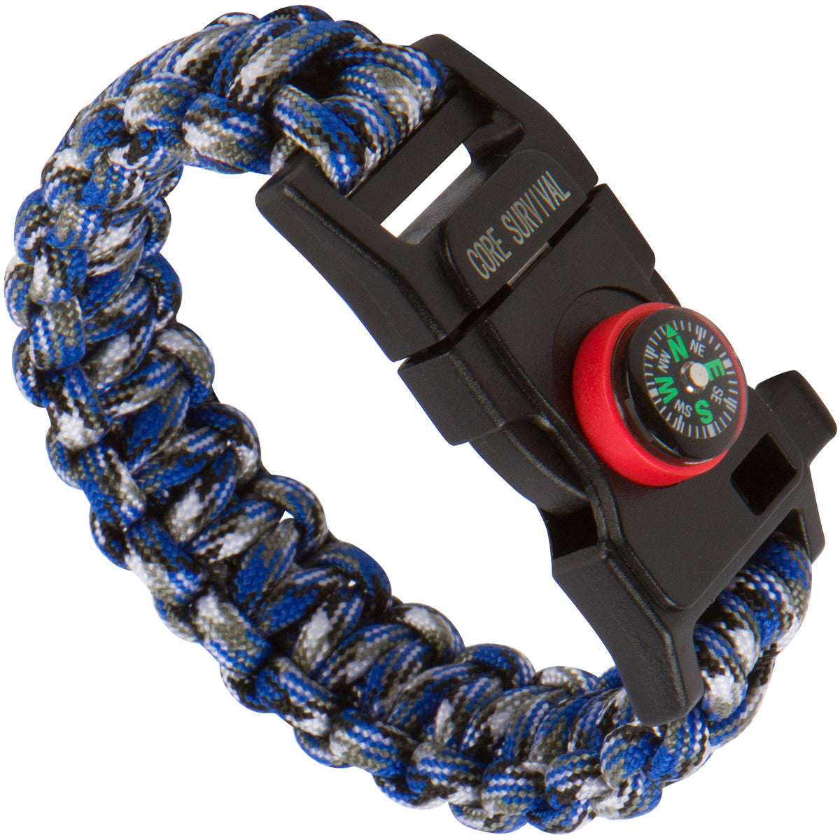Paracord Survival Bracelet (Medium)