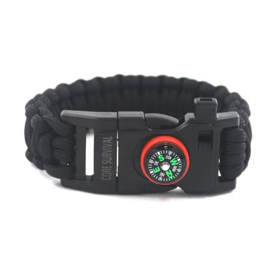 Paracord Survival Bracelet (Large)