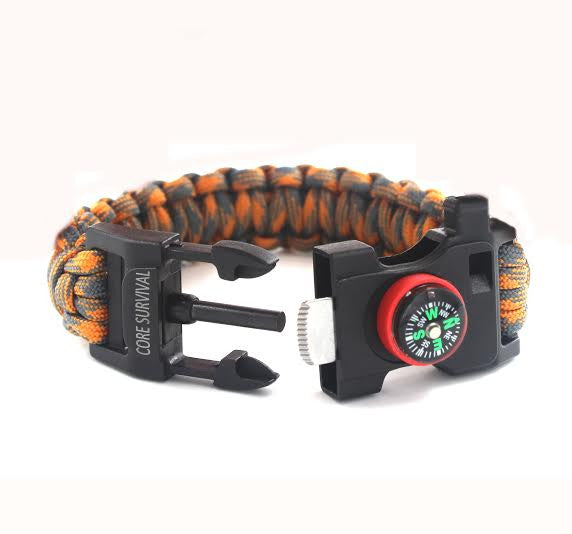 Paracord Survival Bracelet (Small)