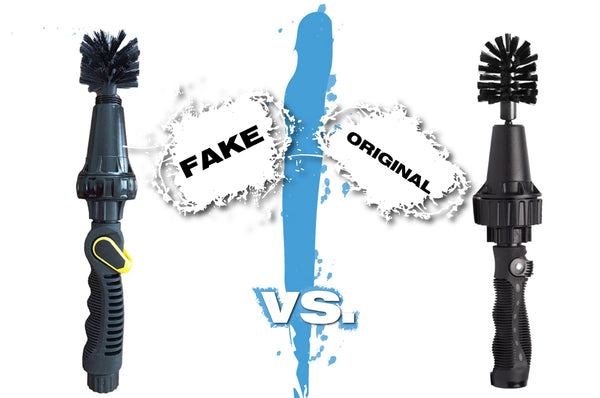 How to Identify a Fake Brush Hero