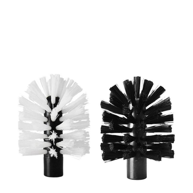 Brush Hero Replacement Cleaning Brush Set - Black/White