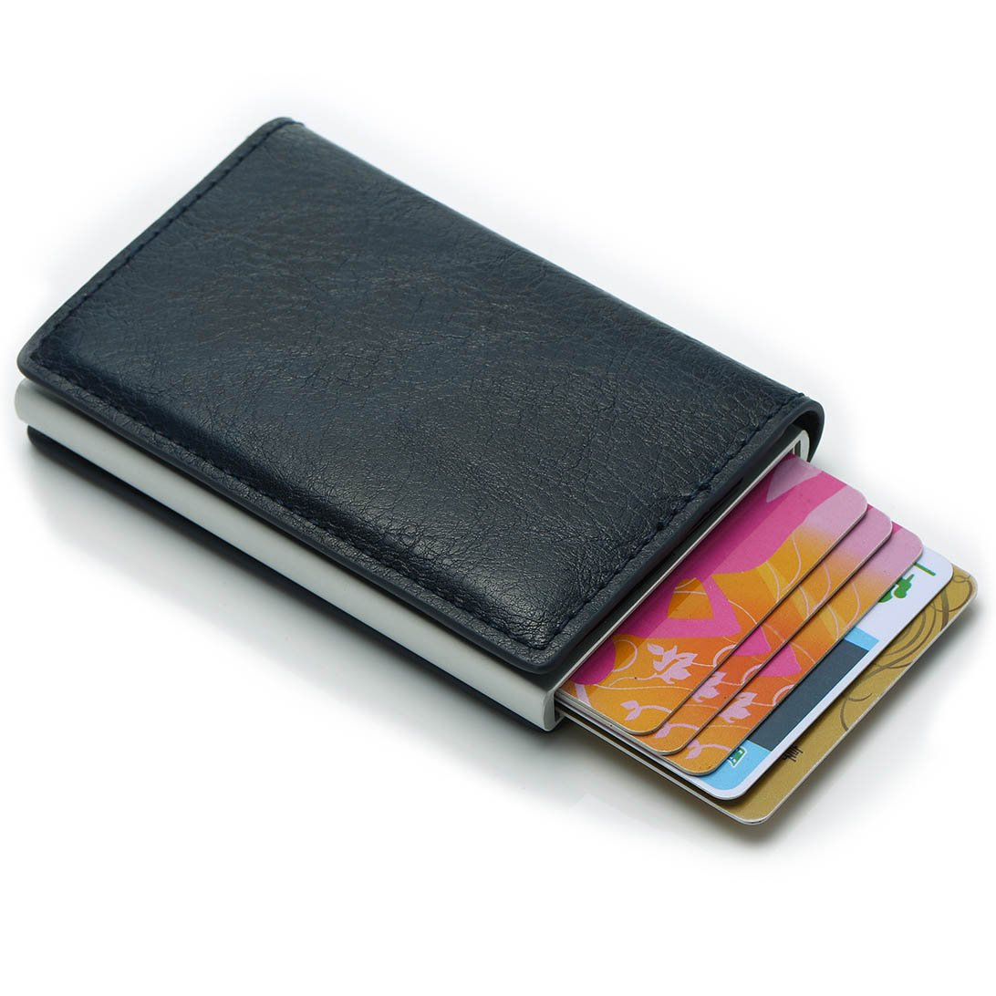 RFID Premium Card Holder Wallet Automatic Pop Up