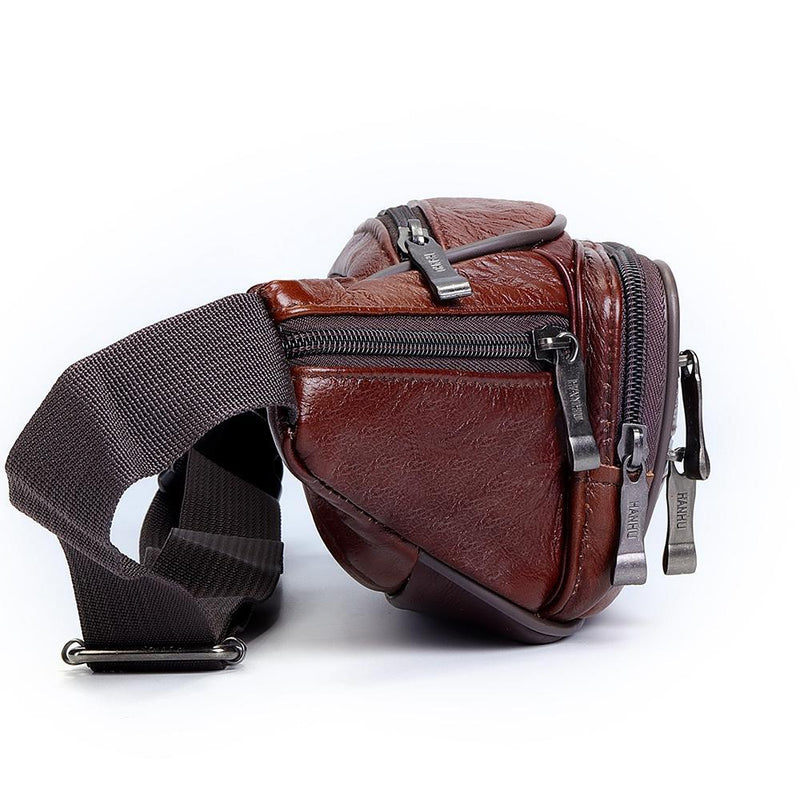 Premium Leather Crossbody-Waist Bag - Epic Deal Shop