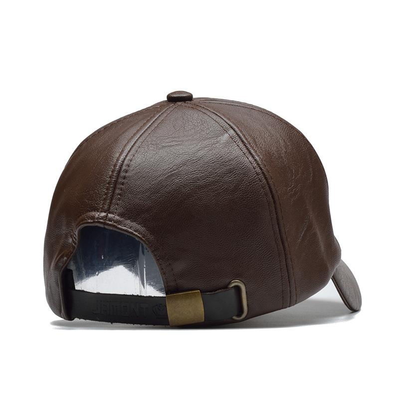 Men's PU Leather Style Baseball Vintage