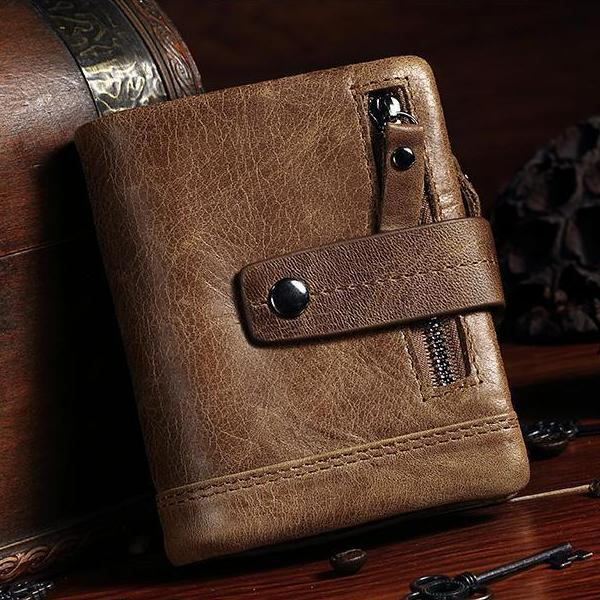 Genuine Leather Wallet Men - Epic Deal Shop