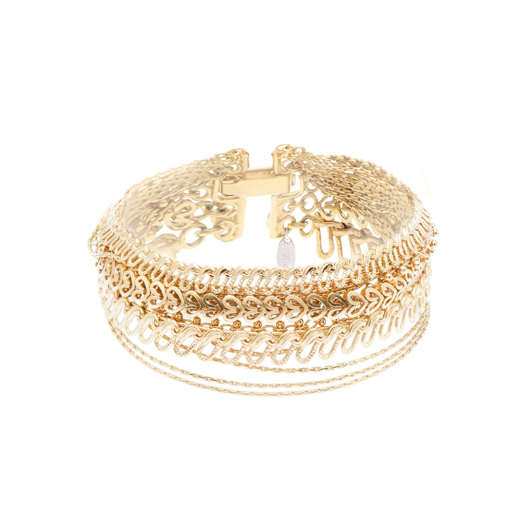 Fine Bracelet with Chains