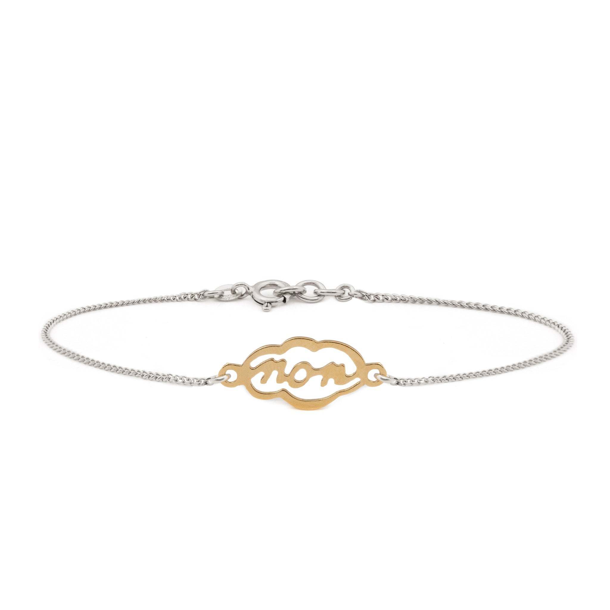 bracelet dainty bryan products milestone delicate gold anthonys