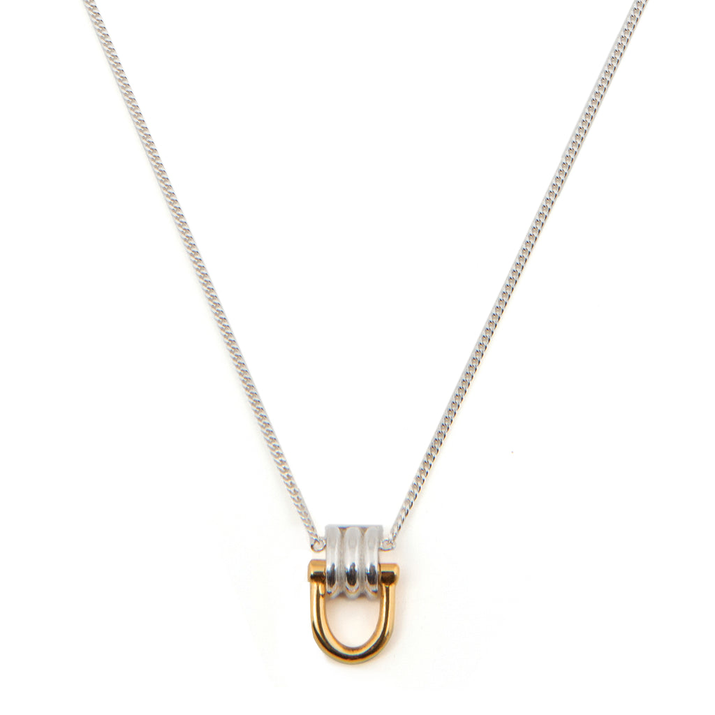 Delicate Necklace with dangling clasp
