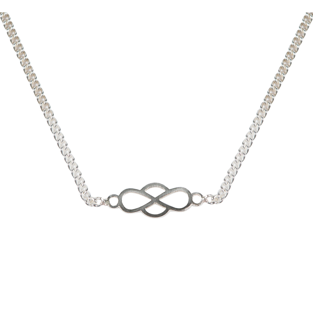 Subtle Necklace with infinity symbol