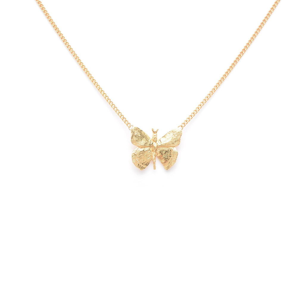 Fine butterfly pendant Necklace