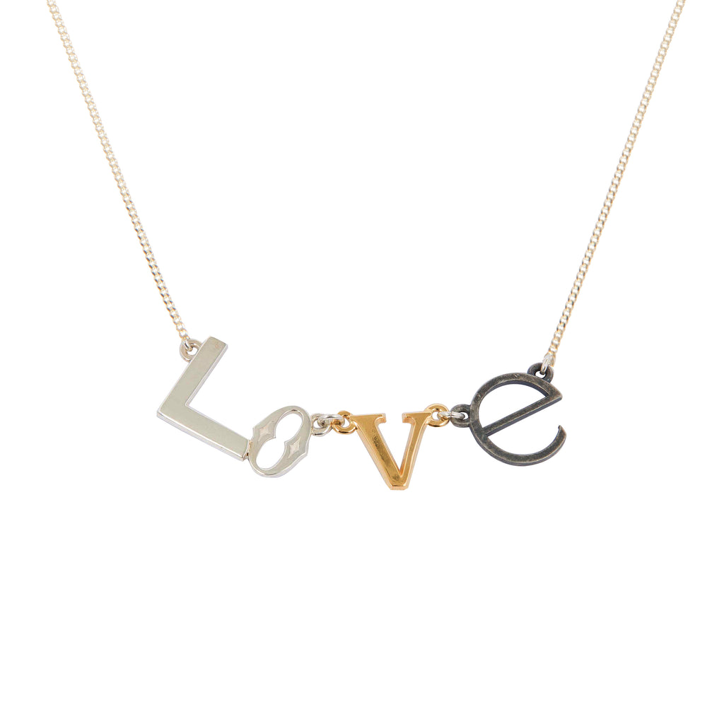 Fine Necklace with Love