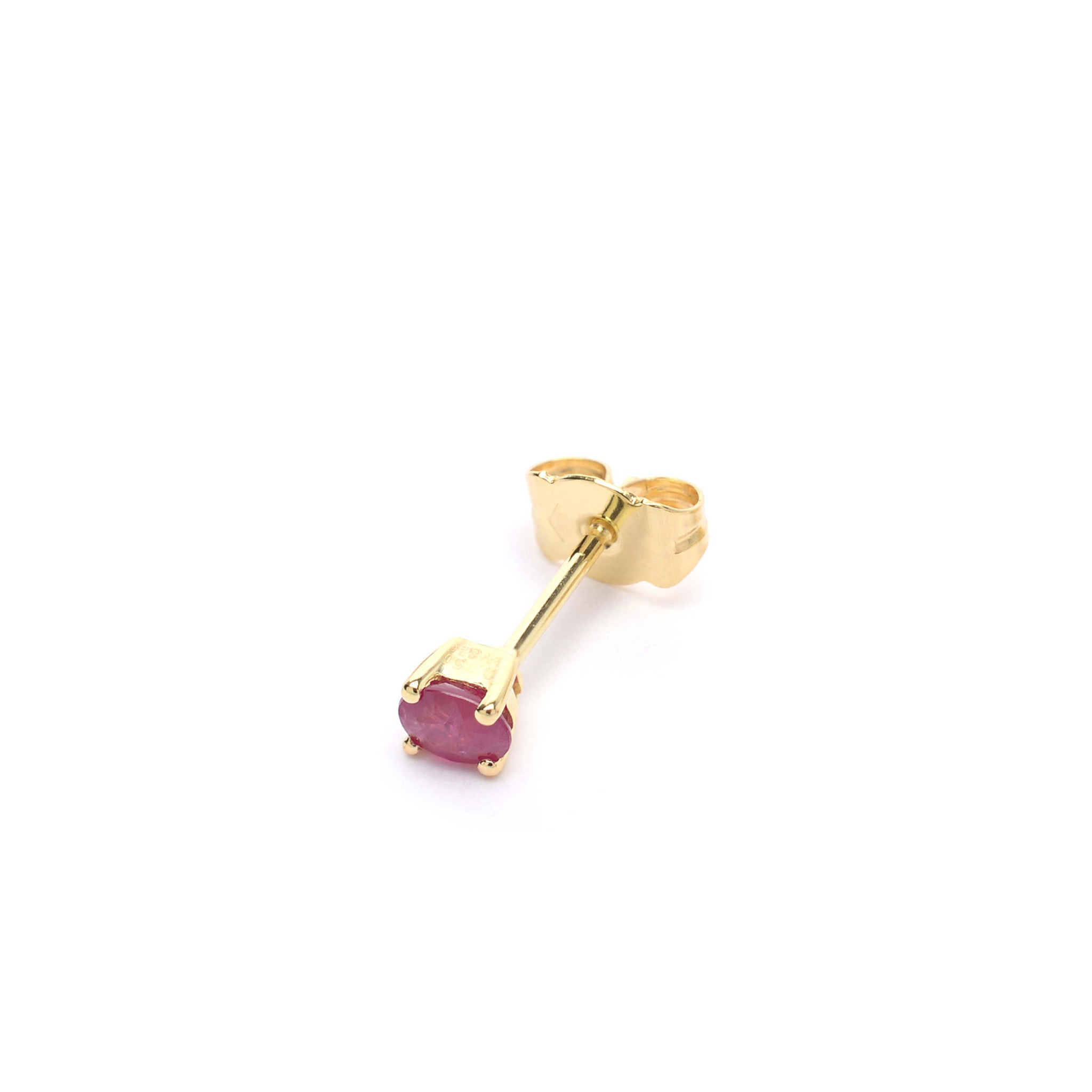 the and opulent earrings are ruby stud shaped pearl pin round