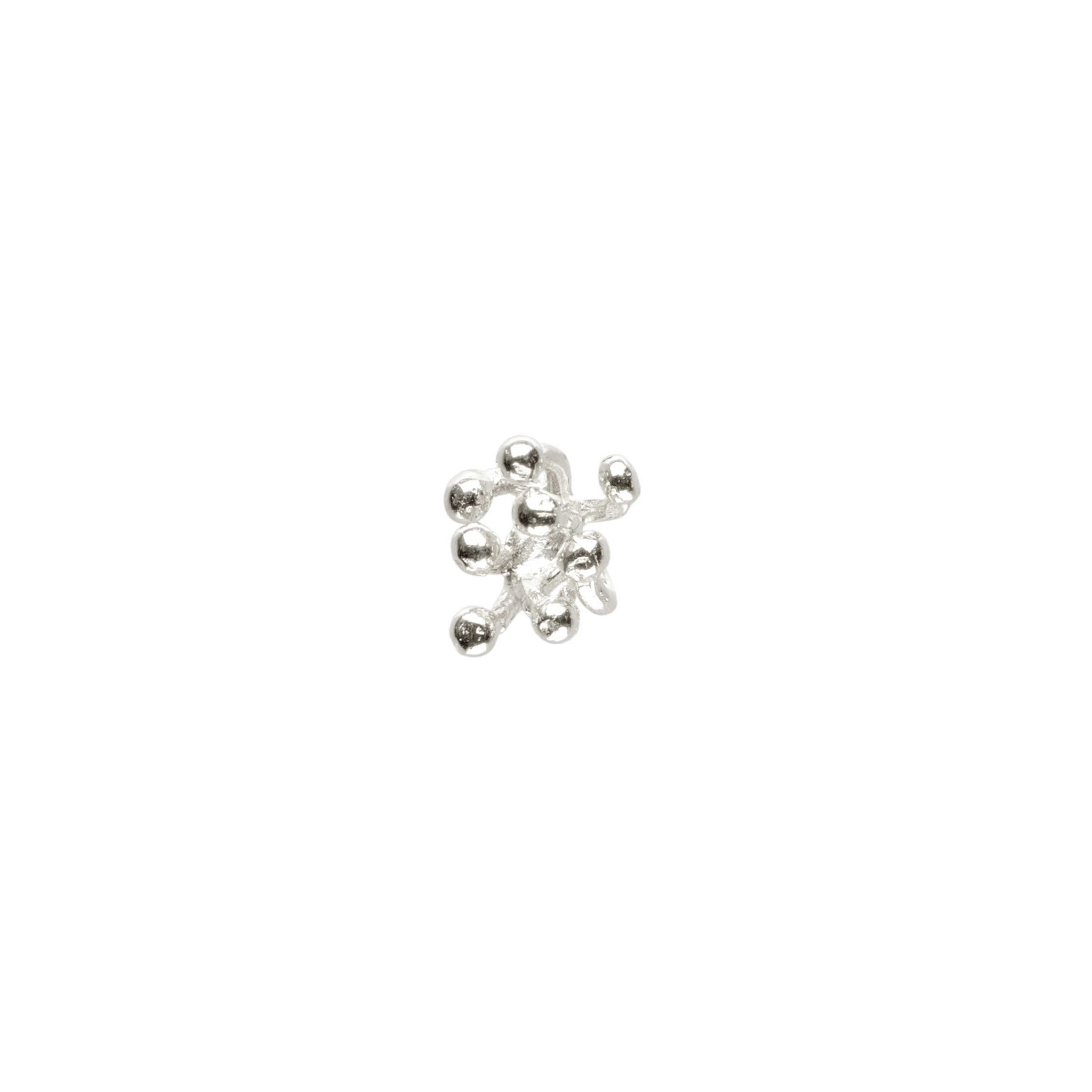 Sterling Silver single Stud Earring