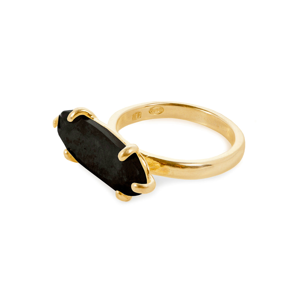Ring with Yellow Tiger Eye