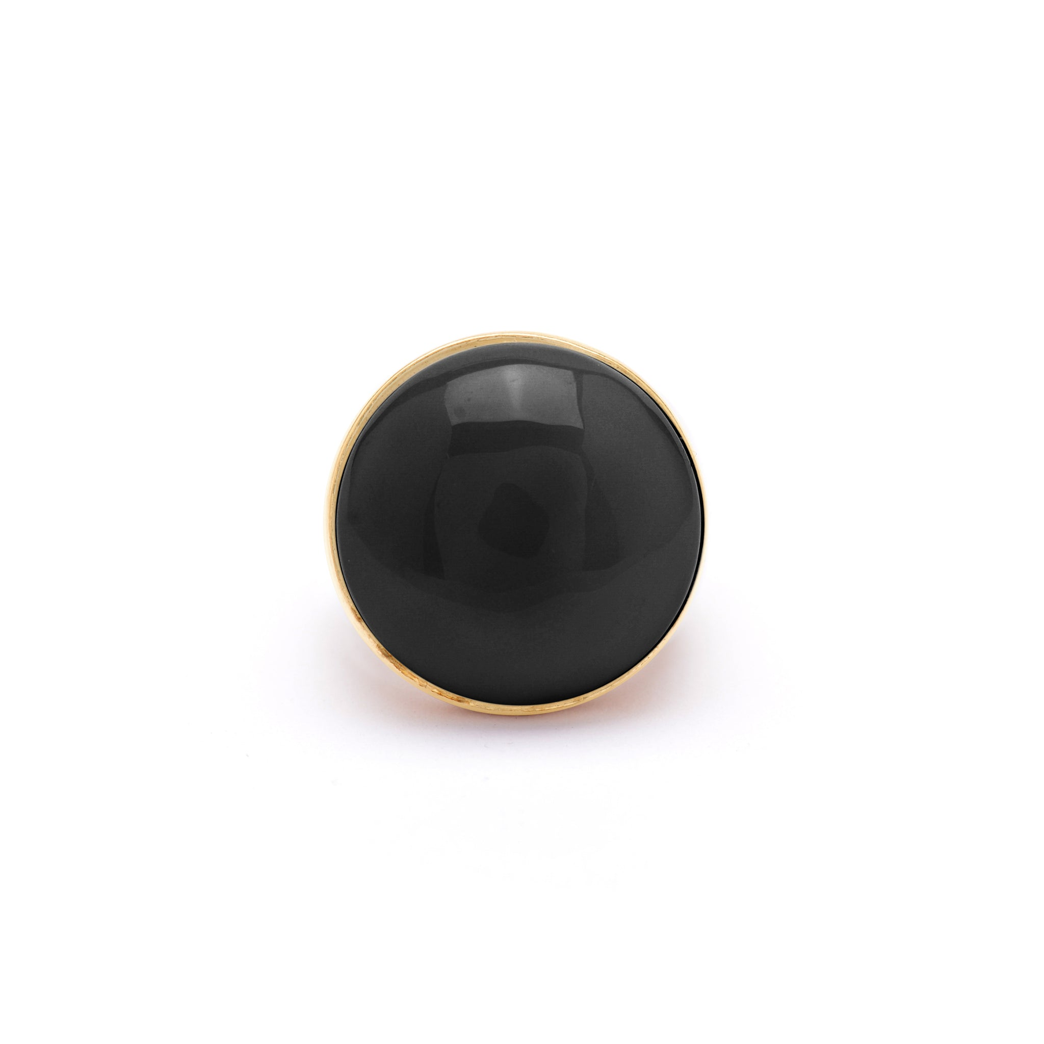 Sterling silver Ring with Onyx stone