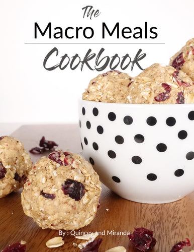 The Macro Meals E-Cookbook