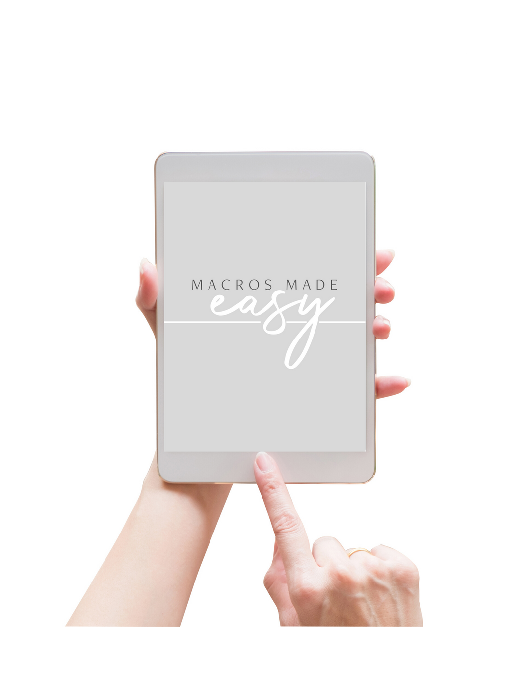 Macros Made Easy recipe E-book