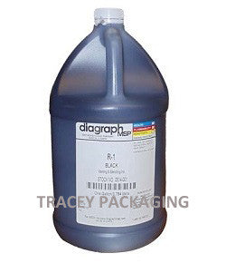 Diagraph R-1 Black Stencil Ink - Gallon 0514-001 0514001