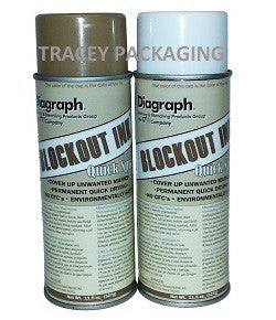 Diagraph Quik-Spray Blockout Ink - Each