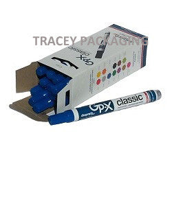 Diagraph GP-X Classic Paint Markers - Blue 0968-521
