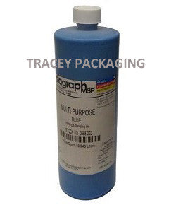 Diagraph Multi-Purpose Blue Stencil Ink - Quart 0568-002 0568002