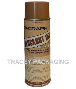 Diagraph Quik-Spray Blockout Ink - Tan 1593-157