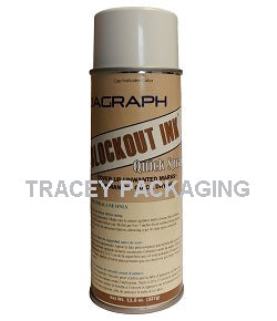 Diagraph Quik-Spray Blockout Ink - White 1563-157 1563157