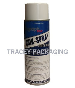 Diagraph Quik-Spray White Stencil Ink 1563-155
