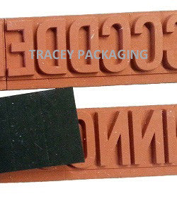 FlexBase Rubber Type Letter & Number Set 1712-002 1712002