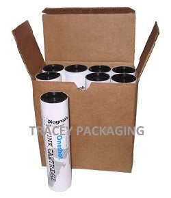 Diagraph Oneshot Ink Cartridge Carton - White 2700-872 2700872
