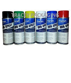 Diagraph Quik-Spray Stencil Ink - Each