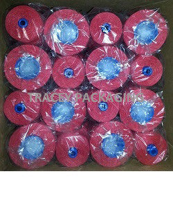 Bag Closing Red Thread 8 oz cone - Case Quantity