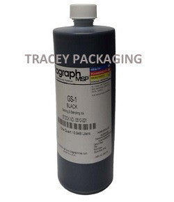 Diagraph GS-1 Black Stencil Ink - Quart 0510-001