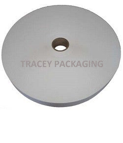 "Bag Closing White 2.5"" Crepe Tape"