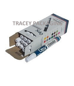 Diagraph GP-X Classic Paint Markers - White 0968-500 0968500