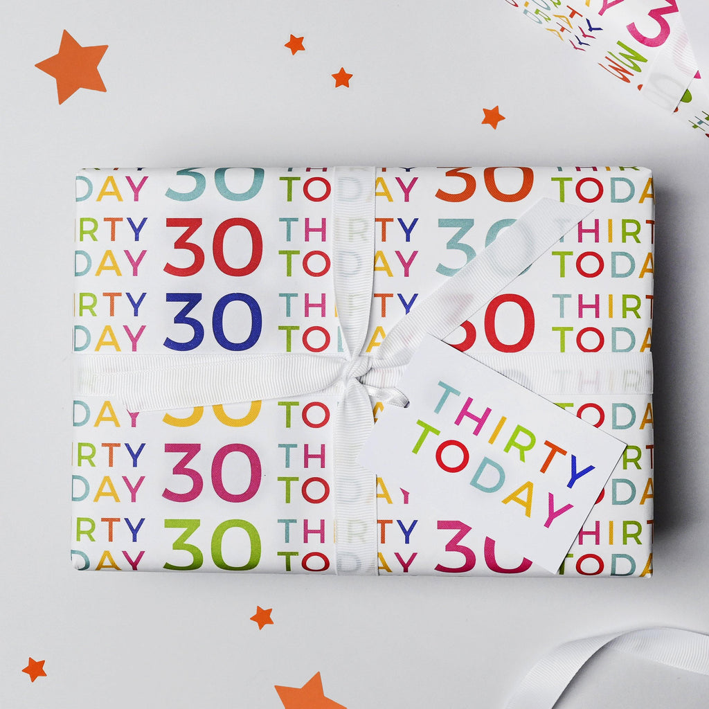 30 Today Wrapping Paper Set
