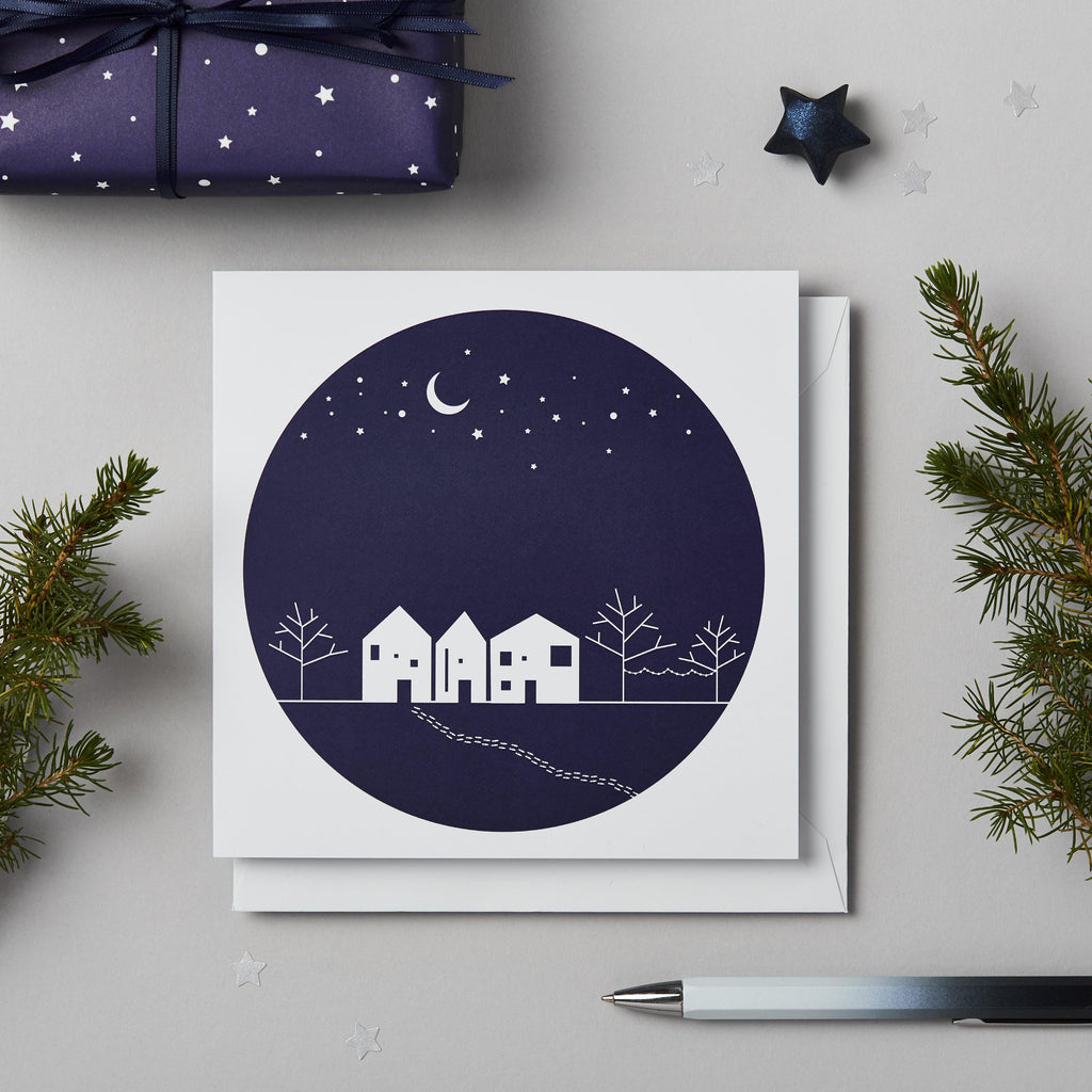 'Winter Scene' Christmas Card Pack - Studio 9 Ltd