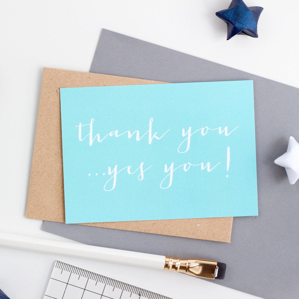 Mini Thank You - Thanks You, Yes You!