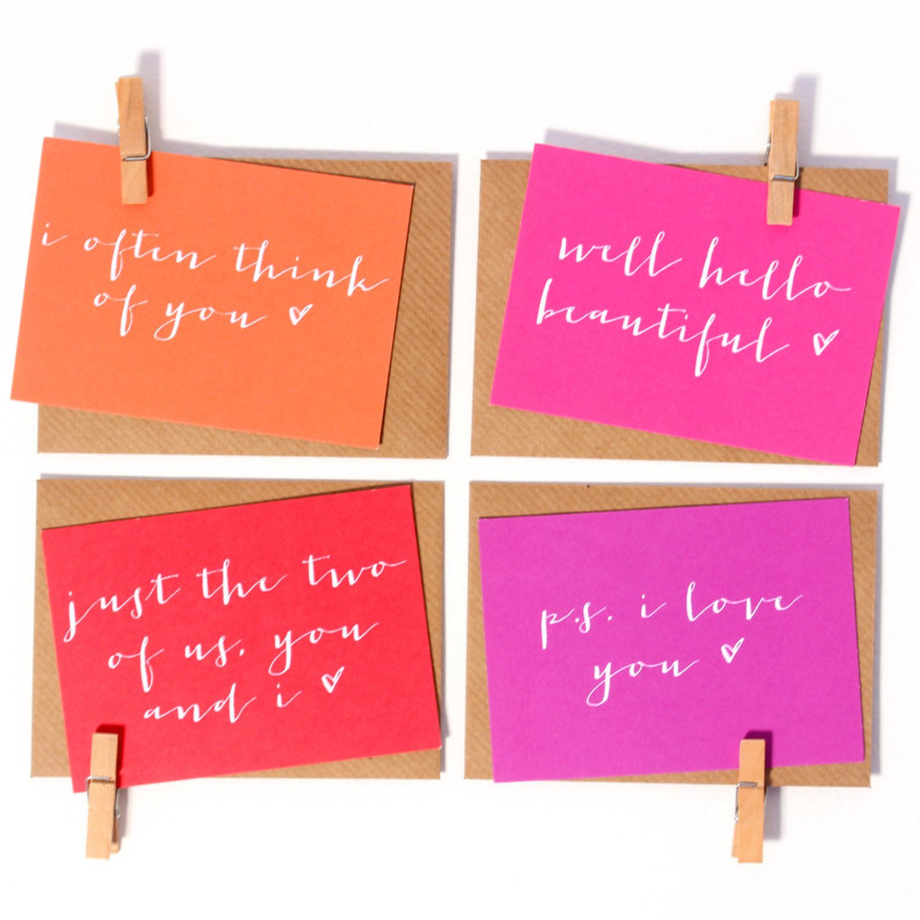 Mini Love Notes - Set of 8