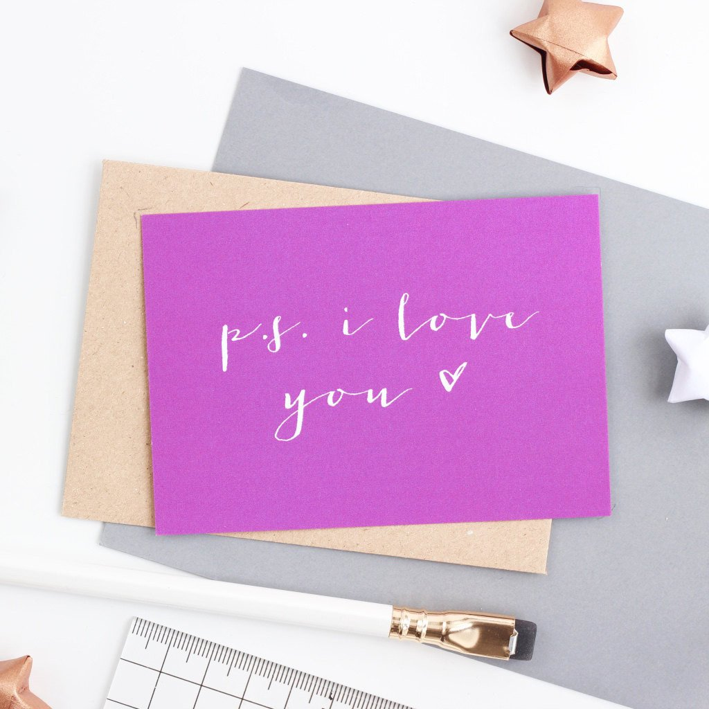 Mini Love Note  - PS I Love You
