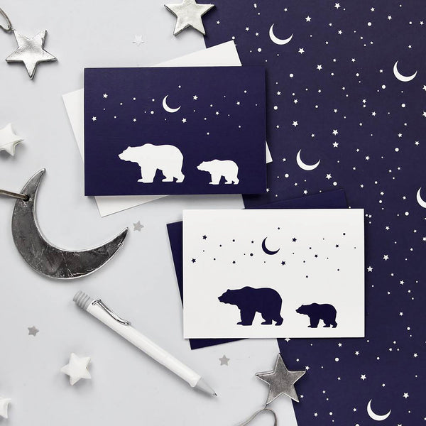 Polar Bears Christmas Card Pack