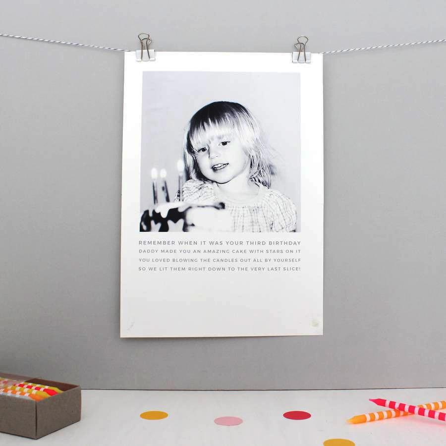 Personalised Photo Story Print - Studio 9 Ltd