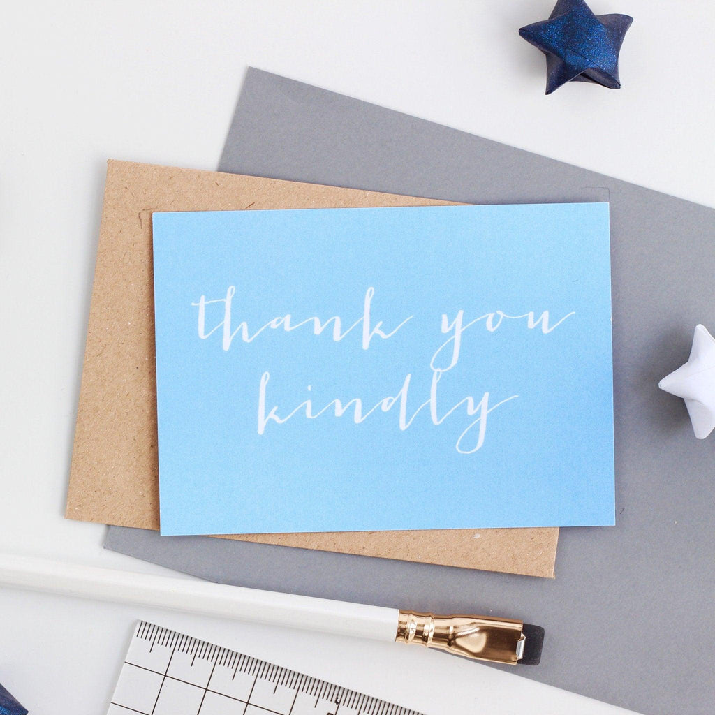 Mini Thank You - Thank You Kindly