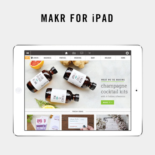 Makr for iPad