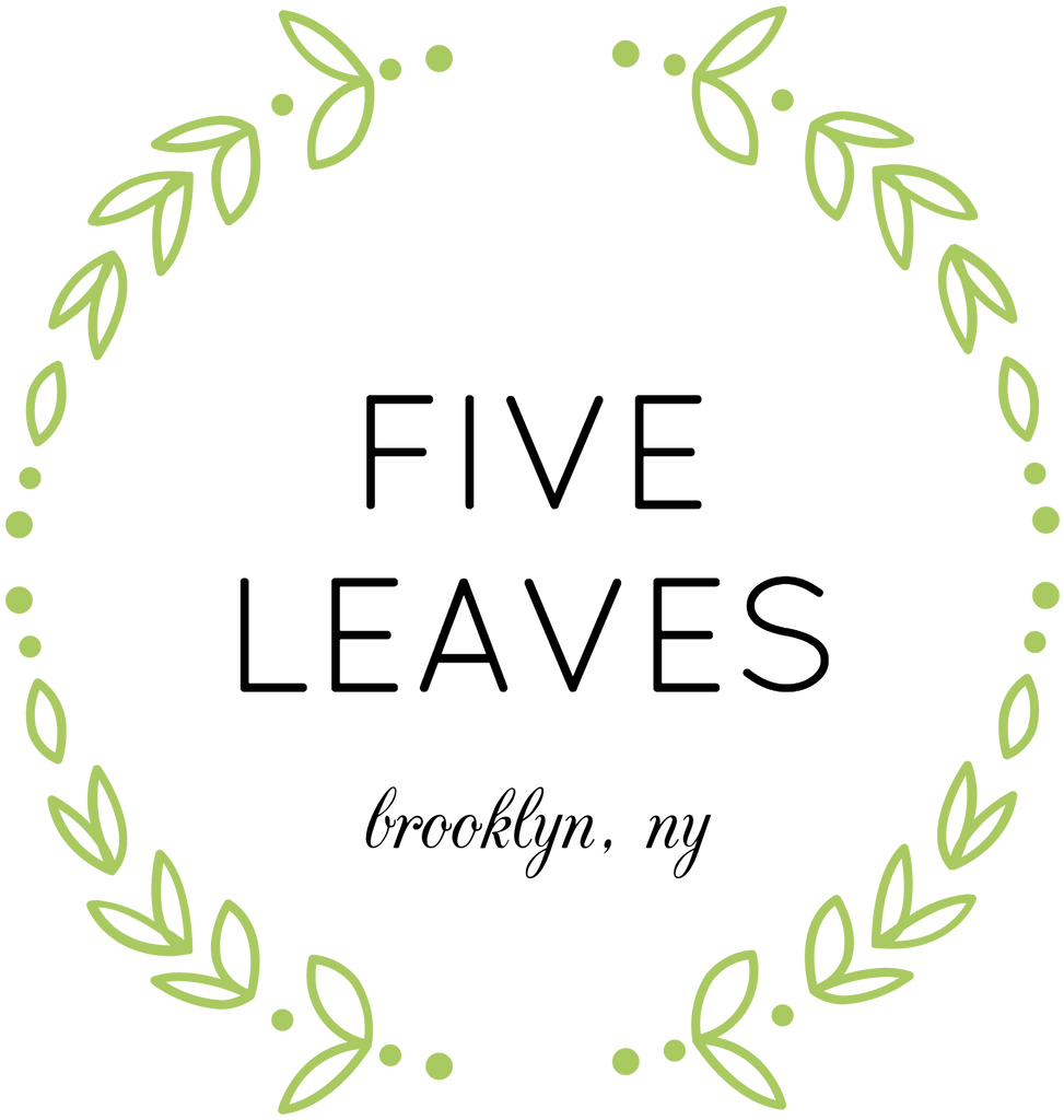 Five Leaves test logo