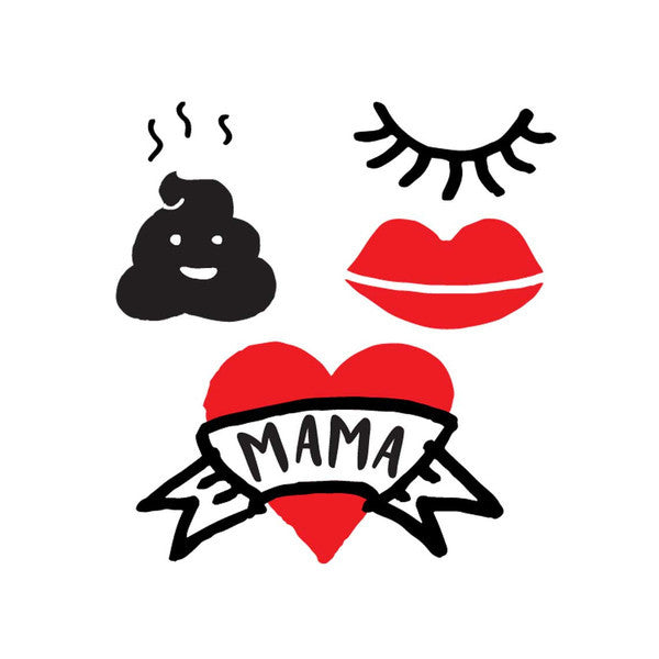 Hot Mama Tattoo Pack