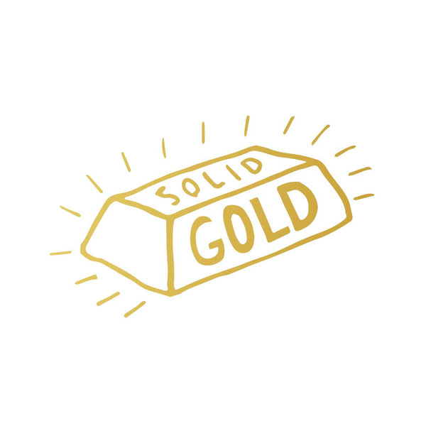 Solid Gold Tattoo Card Pack