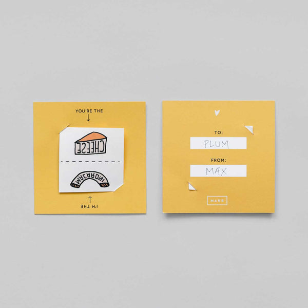 Mac And Cheese Tattoo Card Pack