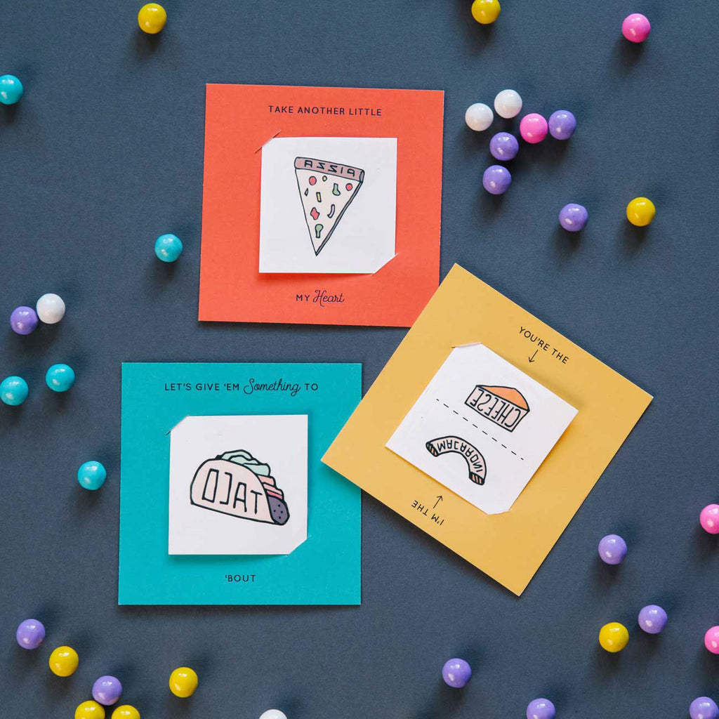 """Snack Pack"" Tattoo Card Pack"