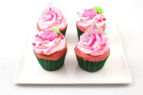 1/2 Dozen - Pretty in Pink - Cupcakes